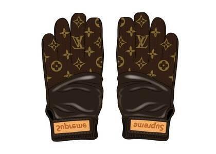 Supreme x Louis Vuitton Baseball Gloves Brown (SS17)の写真