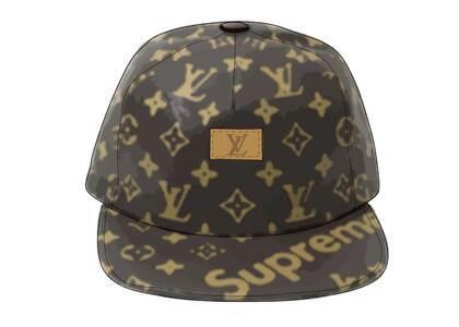 Supreme x Louis Vuitton 5-Panel Hat Brown (SS17)の写真