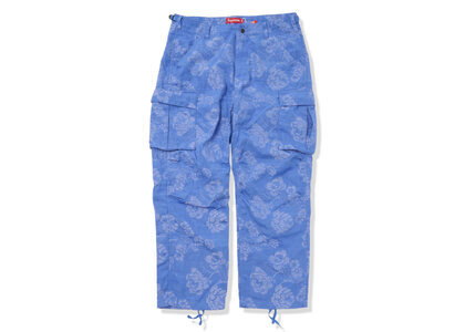 Supreme Floral Tapestry Cargo Pant blue (SS21)