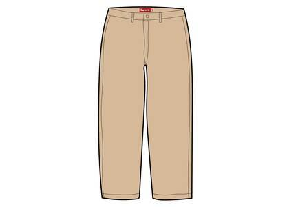 Supreme Pin Up Chino Pant Beige (SS21)の写真