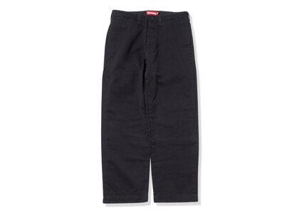 Supreme Pin Up Chino Pant Black (SS21)の写真