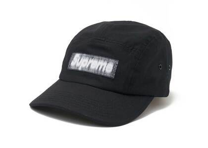 Supreme Reversed Label Camp Cap Black (SS21)の写真
