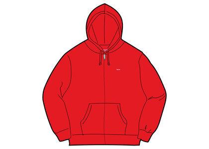 Supreme Small Box Zip Up Hooded Sweatshirt Red (SS21)の写真