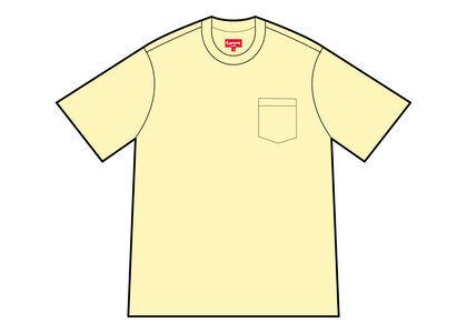 Supreme S/S Pocket Tee Yellow (SS21)の写真