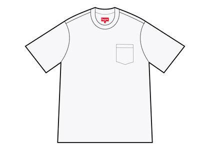 Supreme S/S Pocket Tee White (SS21)の写真