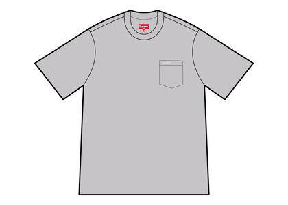 Supreme S/S Pocket Tee Gray (SS21)の写真