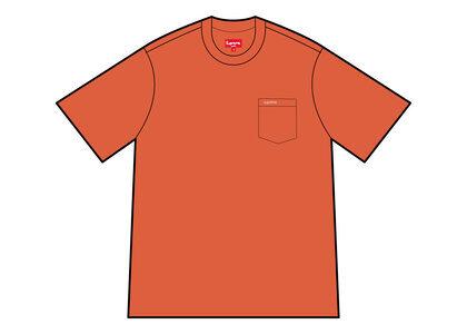 Supreme S/S Pocket Tee Orange (SS21)の写真