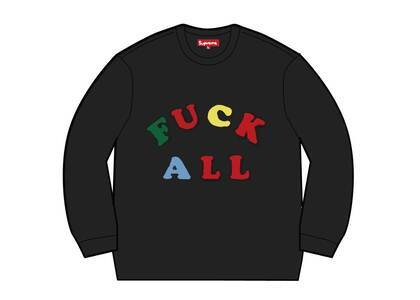 Supreme Jamie Reid Fuck All Sweater Black (SS21)の写真