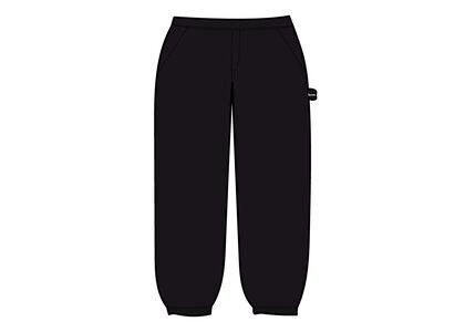Supreme Utility Pocket Sweatpant black (SS21)の写真