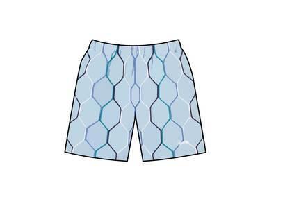 Supreme Hex Knit Short Blue (SS21)の写真