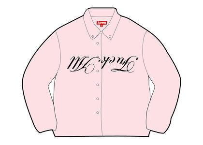 Supreme Jamie Reid Fuck All Shirt Pink (SS21)の写真