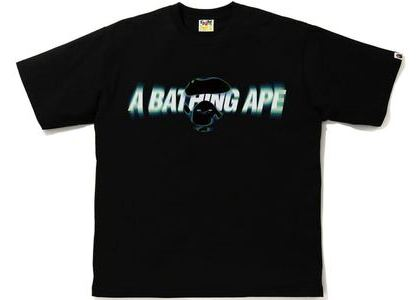 BAPE Blur Relaxed Fit Tee Black (SS21)の写真