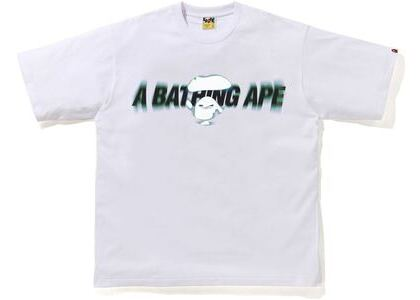 BAPE Blur Relaxed Fit Tee White (SS21)の写真
