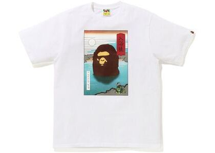 BAPE Japan A Bathing Ape Tee White (SS21)の写真