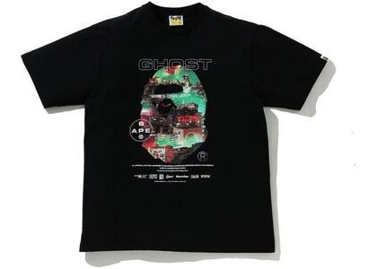 BAPE A Bathing Ape Ghorst 2 Relaxed Fit Tee Black (SS21)の写真