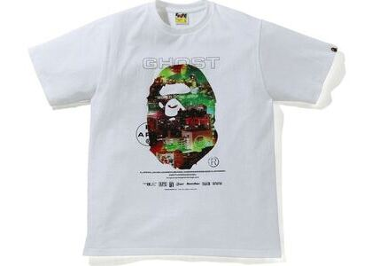 BAPE A Bathing Ape Ghorst 2 Relaxed Fit Tee White (SS21)の写真