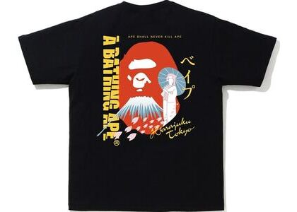 BAPE Japan Culture Souvenir Tee Black (SS21)の写真