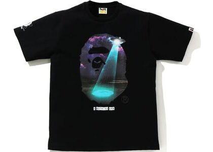BAPE Galaxy UFO Tee Black (SS21)の写真