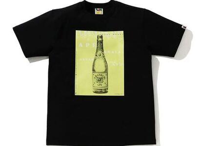 BAPE Champagne Tee Black (SS21)の写真