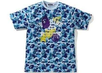 BAPE ABC Camo Multi Print Tee Blue (SS21)の写真