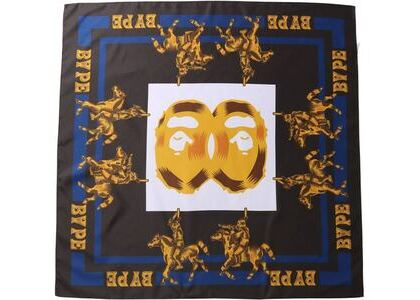 BAPE Double Ape Head Scarf Scarf Black (SS21)の写真