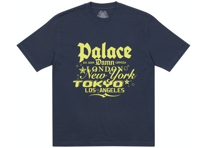 Palace Damb T-Shirt Navy (SS21)の写真