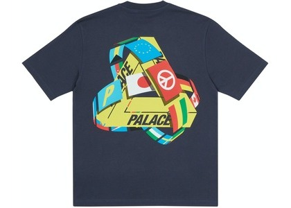Palace Tri-Flag T-Shirt Navy (SS21)の写真