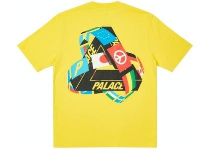 Palace Tri-Flag T-Shirt Yellow (SS21)の写真