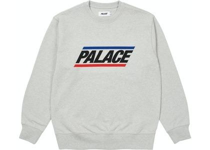Palace Basics Logo Crew Grey Marl (SS21)の写真