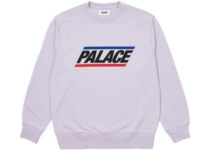 Palace Basics Logo Crew Lilac (SS21)の写真