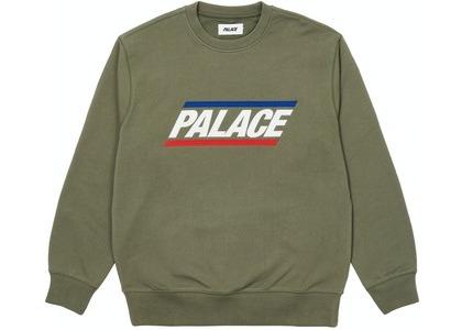 Palace Basics Logo Crew Olive (SS21)の写真