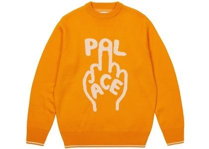 Palace Finger Up Knit Orange (SS21)の写真