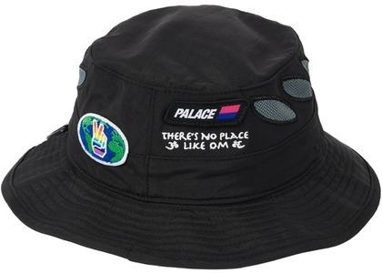Palace OM Shell Bucket Hat Black (SS21)の写真