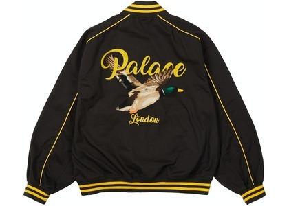 Palace Chain Stitch Bomber Jacket Black (SS21)の写真