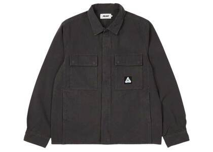 Palace Canvas Shirt Black (SS21)の写真