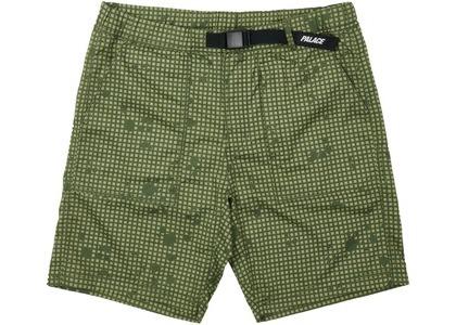 Palace Belter Shorts Olive Grid DPM (SS21)の写真