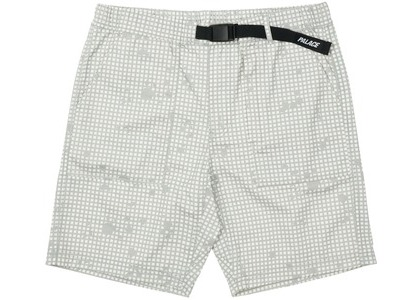 Palace Belter Shorts White Grid DPM (SS21)の写真