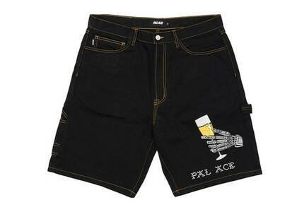 Palace Hippy Salute Denim Shorts Black (SS21)の写真