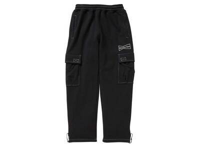 The Black Eye Patch × Wasted Youth Sweat Cargo Pants Blackの写真