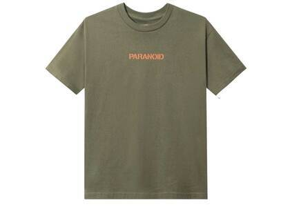 ASSC × Undefeated Paranoid Olive Tee の写真