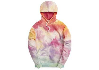 Kith Tie Dye Williams III Hoodie Pink / Green
