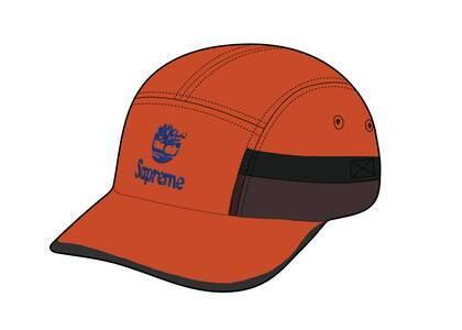 Timberland × Supreme Camp Cap Orange (SS21)の写真