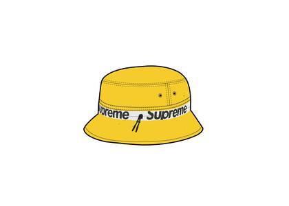 Supreme Reflective Zip Crusher Yellow (SS21)の写真