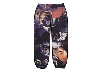 Supreme Eagle Double Knee Denim Painter Pant Purple/Red (SS21)の写真