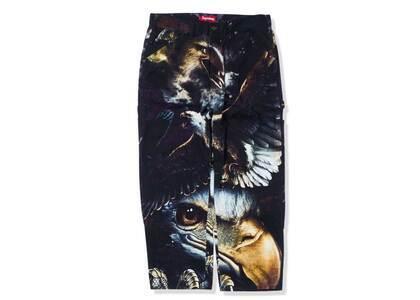 Supreme Eagle Double Knee Denim Painter Pant Purple/Black (SS21)の写真