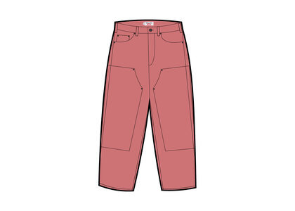 Timberland × Supreme Double Knee Painter Pant Pink (SS21)の写真
