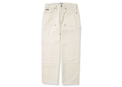 Timberland × Supreme Double Knee Painter Pant White (SS21)の写真