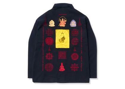 Supreme Blessings Ripstop Shirt Black (SS21)の写真