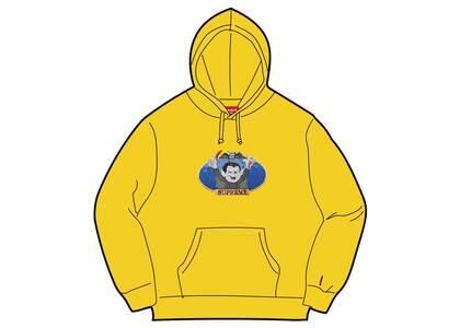Supreme Vampire Boy Hooded Sweatshirt Yellow (SS21)