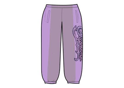 Supreme Paneled Script Sweatpant Purple (SS21)の写真